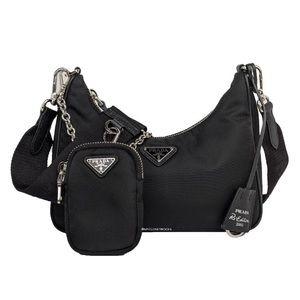 Authentic Prada Re-Edition 2005 mini crossbody bag